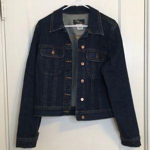 Denim Dark Wash Jacket
